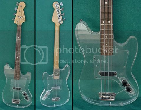Lucite Musicmaster Bass