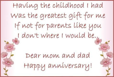 Cute Anniversary Quotes For Parents. QuotesGram