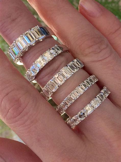 stacked wedding bands ideas  pinterest