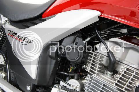 Motor da CG 150 Titan Mix com autonomia de 28km/l de álcool