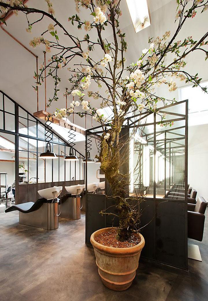 Mogeen hair salon, Amsterdam » Retail Design Blog