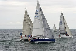 J/109 sailing Armen Race in France