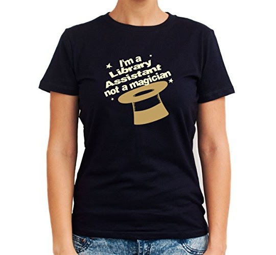A Library Assistant T-shirt