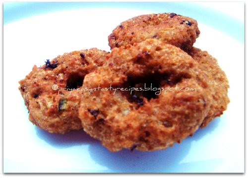 Cracked wheat & Bread vada