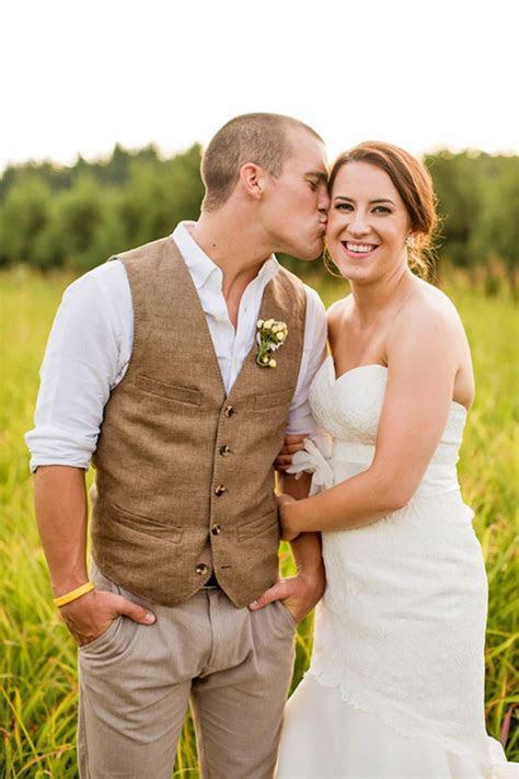 rustic groom attire  country weddings mens