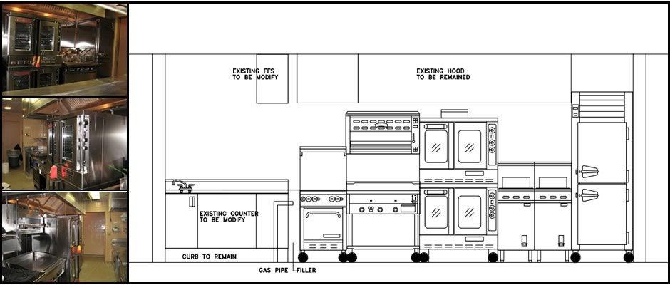 Professional Kitchen Floor Plan | Kitchen Flooring