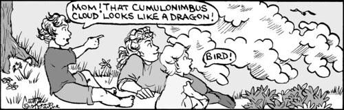 Home Spun comic strip #480