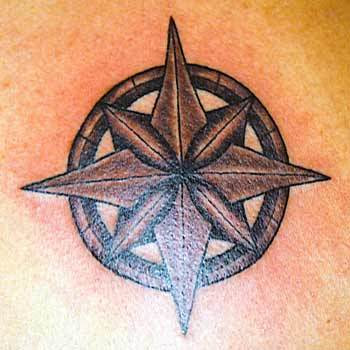 Simple Yet Beautiful Nautical Star Tattoo Design For Men Tattoomagz