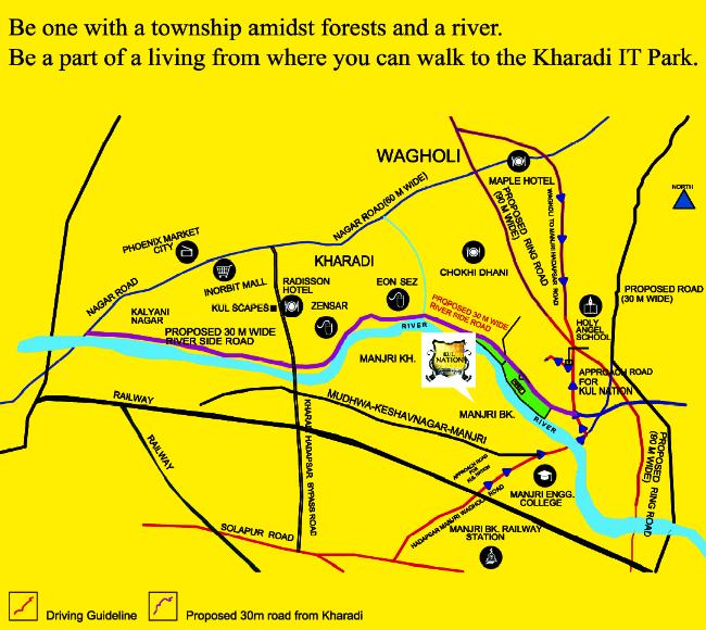 KUL Nation Manjri Khurd Launch Ad Sunday Times of India 3 March 2013-1