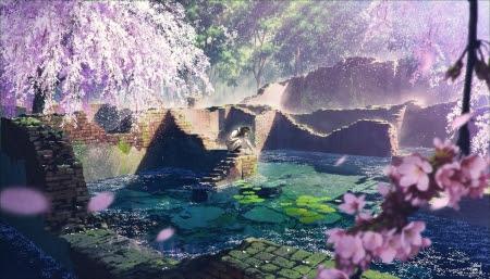 Sakura Scenery Other Anime Background Wallpapers On Desktop Nexus Image 2409003