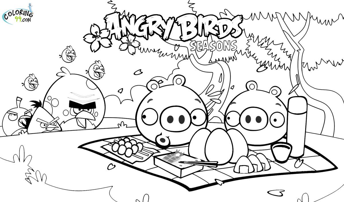 126 Dibujos De Angry Birds Para Colorear Oh Kids Page 14