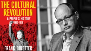 """Frank Dikotter (right) author of """"The Cultural Revolution: A People's History."""""""