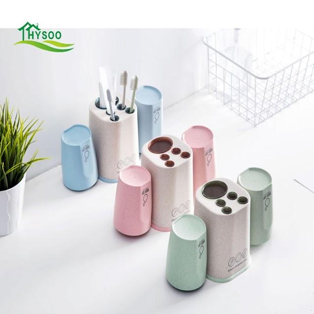 Best Зубная щётка держатель для полоскания чашка мыть набор творческий бытовой зубная паста полка Недорого H2 Купить