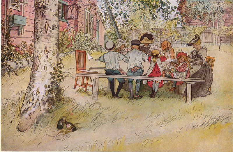 File:Frukost under stora björken av Carl Larsson 1896.jpg