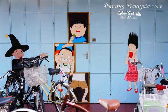 01. Penang's Art Street