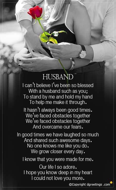 Anniversary Poem For Husband