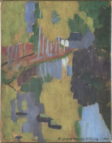 Le Talisman, l'Aven au Bois d'Amour, Paul Sérusier, 1888