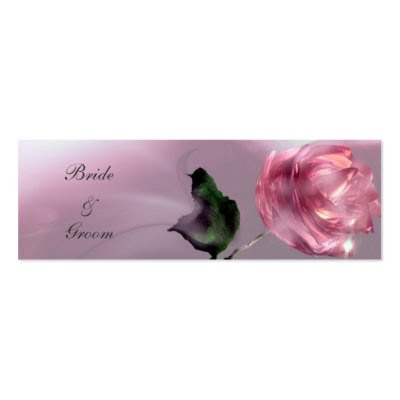 Thank You Wedding Gift Tag Business Cards by elenaind