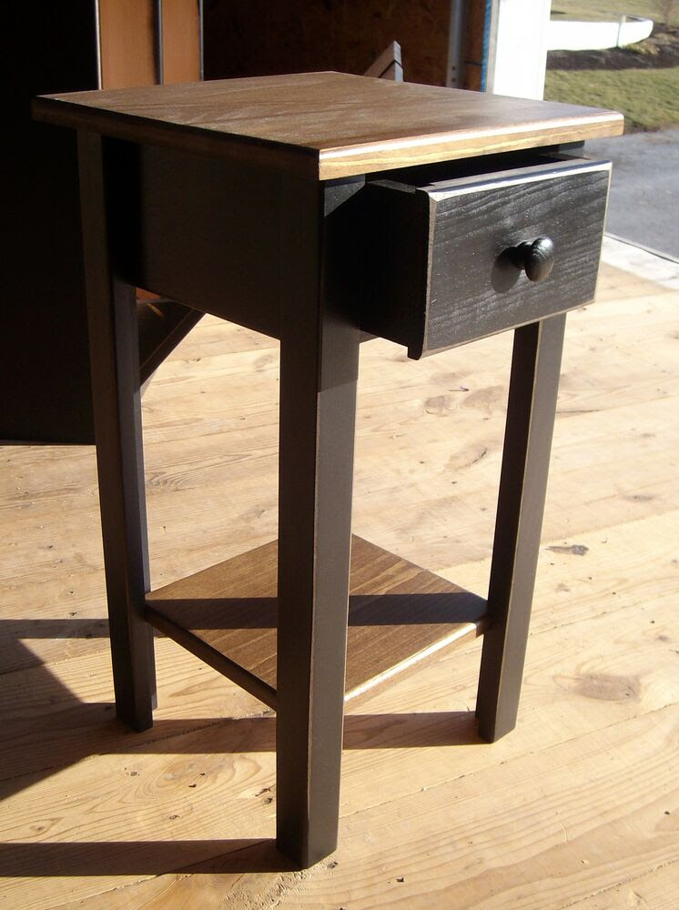 AMISH HOMEMADE PRIMITIVE DISTRESSED STYLE END TABLES COFFEE TABLES LAMP TABLES | eBay