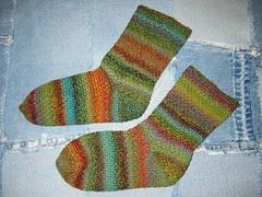Trekking 100 Crochet Socks