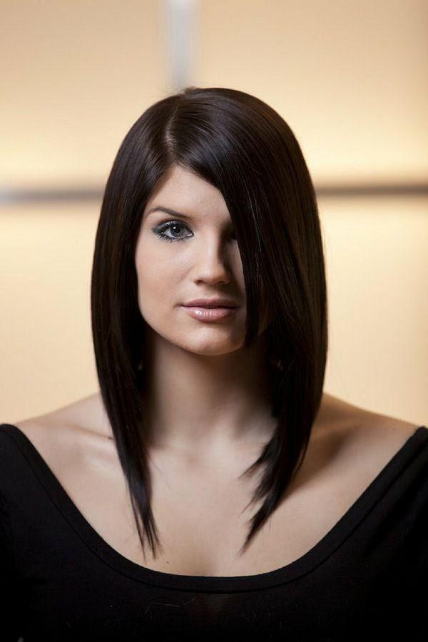 Pony Frisuren Und Stufenschnitt Passend Für Frauen über 30