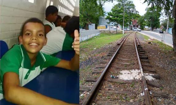 Tragédia: Criança de 8 anos tem a cabeça decepada pelo trem