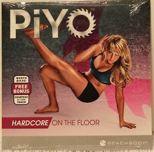 piyo hardcore   floor workout fitness exercise