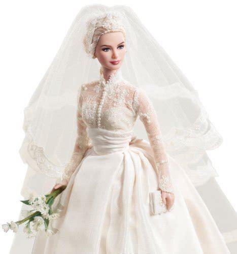 Mattel's Barbie Princess Grace Kelly Bride in Silkstone