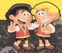 Los gemelos zipi y Zape en pregúntame