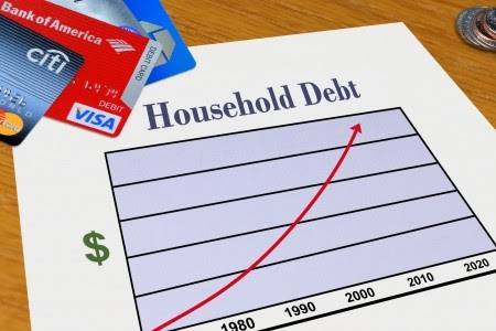 Image result for us personal debt