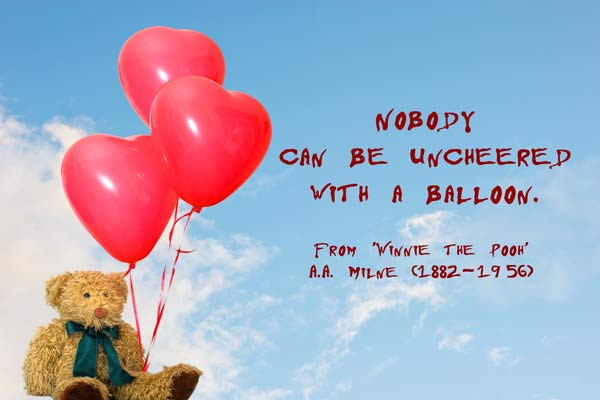 Quotes About Balloon 116 Quotes
