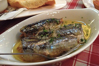 Eating in Manila - Sardines