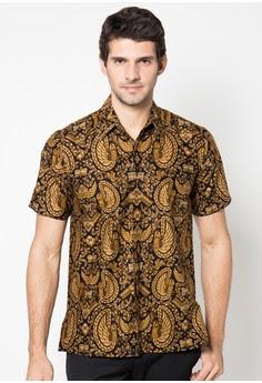 Kemeja Batik Pria Lengan Pendek