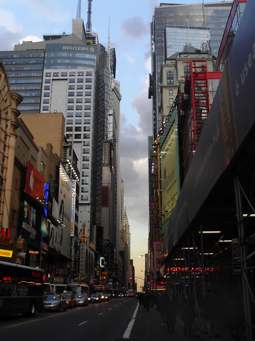 42nd Street, from 8th Avenue