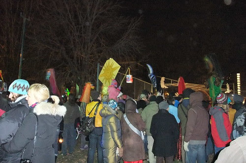 Solstice Puppet Procession