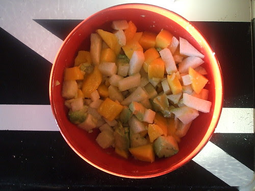mango-jicama salad