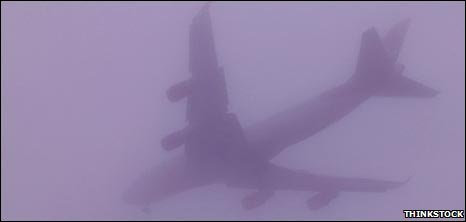 Image result for PLANE IN MIST IMAGES