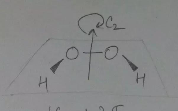 Cis H2o2 Structure