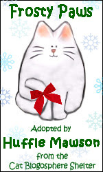 Frosty Paws Adopted by Huffle Mawson