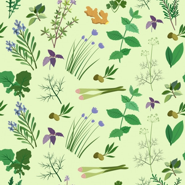 Herb free vector dow