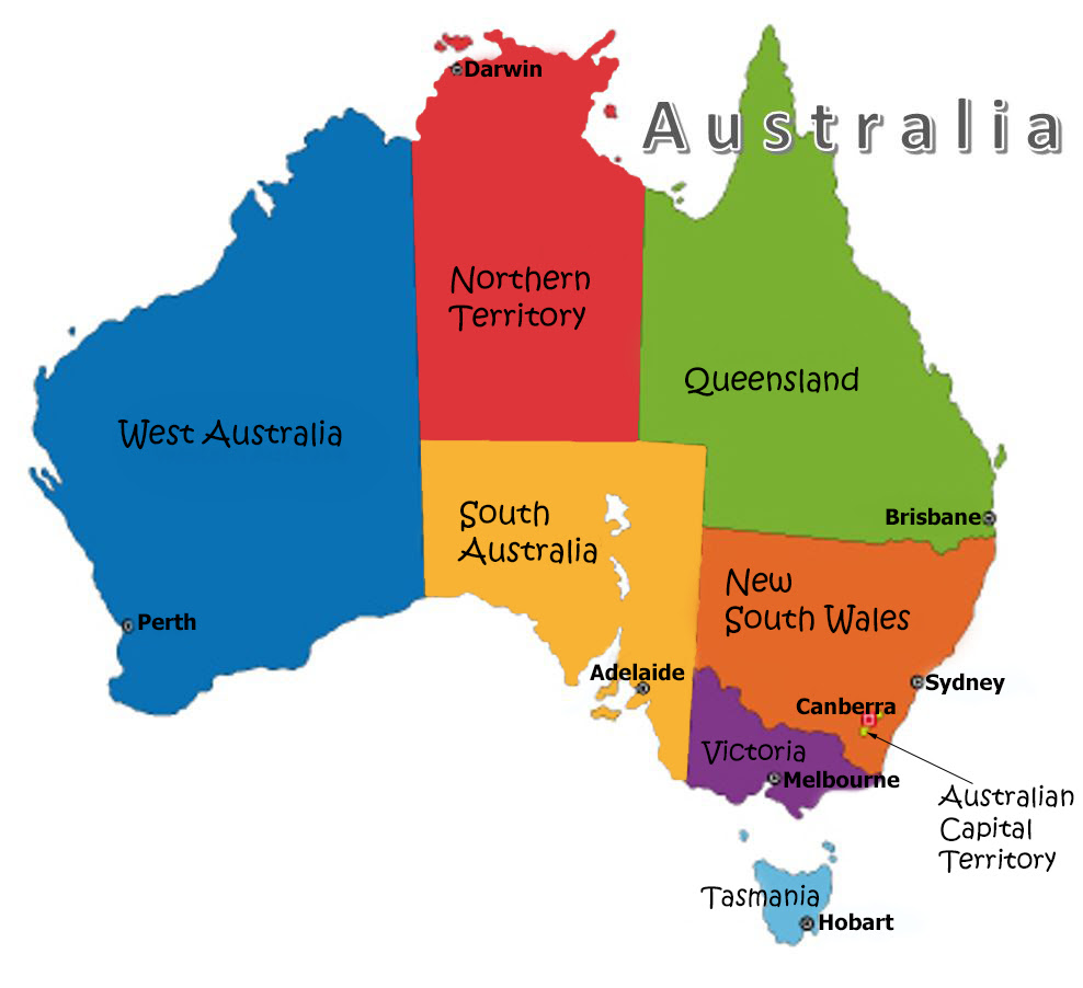 Australia States Images Reverse Search