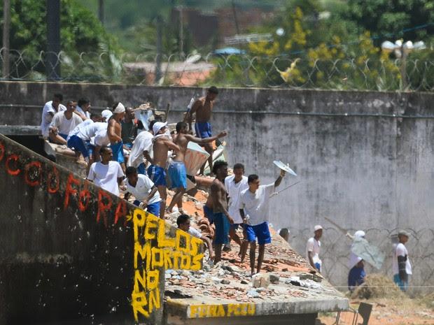 * Ofícios apontam que Governo do RN sabia de risco de rebelião em Alcaçuz.