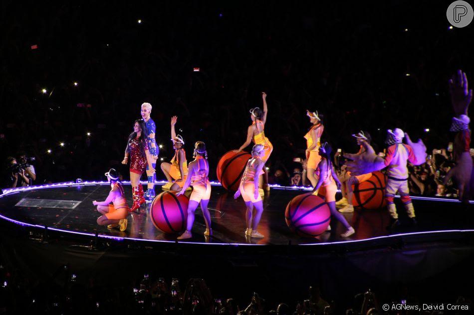 Gretchen particpou do clipe 'Swish, Swish', de Katy Perry
