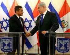 Ollanta Humala Benjamin Netanyahu 1