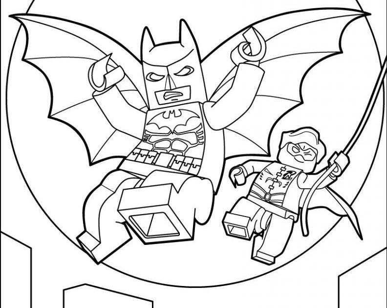 lego batman and joker coloring pages  dejanato
