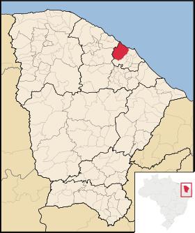 Localização de Caucaia
