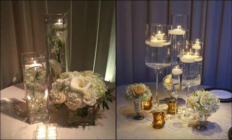 wedding centerpiece ideas for round tables   Wedding
