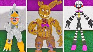 03 Animatronics Liberados No Roblox Fredbears Mega Roleplay Mp3 - 5 animatronics secretos escondidos no roblox circus baby s pizza