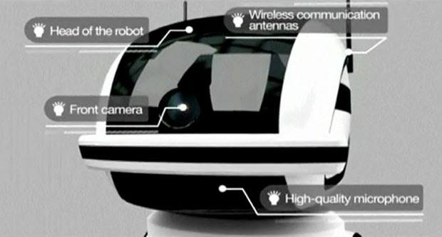 Máquina usa câmera 3D para detectar comportamento anormal dos presos (Foto: Reuters)