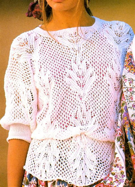 Free Knitting Patterns For Cotton Summer Tops | Knitting ...